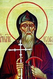 Преподобные Иоасаф Снетогорский и Василий Мирожский